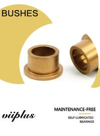 China Sintered Bronze Oil Impregnated Self Lubricating Sleeve Bearings Good Corrosion Resistance factory