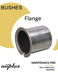 China Flanged Bushes &  Bushing | VIIPLUS Bearing Stainless Steel Bushing With PTFE factory