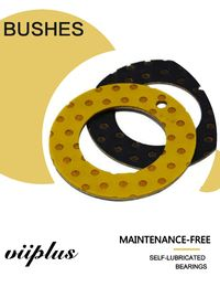 Complete Solutions for Wear Parts & Bushes Stem Bearings Metal Backed Self Lubricating POM / PTFE