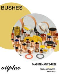 Low Resistance Hydraulic Cylinder Parts Valve Bushing , Self Lubricating Bearings