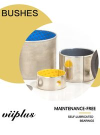 Wrapped Bimetal Bushing Bearing With Lubrication Pockets DIN1494 supplier