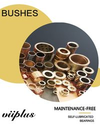Bronze Sleeve Bushing for Lift Cylinder | Hydraulic Cylinder Bearings
