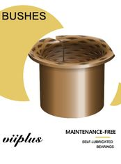 Durable Bronze Wrapped Bearing Strip CuSn8 Rolled Phosphor Bronze Alloy Material