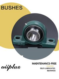 China Outer Spherical Bearing Vertical Pilllow Block Sliding Bearing  With Seat UCP Series | Bushing Blocks and Thrust Plates factory