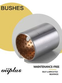 Copper Plated Steel Shell Bimetal Bearings With Sinered Bronze Liner Shaft