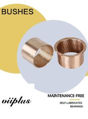 Diamond Phosphor Bronze Bushes & Washer Oil Grooves Holes CW453K CuSn8 supplier