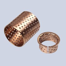 Lubrication Bundbuchse Wrapped Bronze Bearings CuSn8 CW453K 092 Easy Assembly supplier