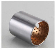 Steel backing with CuPb10Sn10  JF-800 Bimetal Bushes Inch Sizes Ball shaped Oil sockets supplier