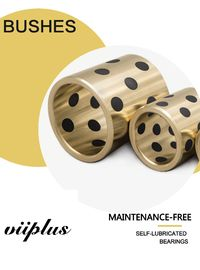 Metals | Brass | Bronze Sleeve Bushings , Graphite plugged bearing, china supplier, high quality