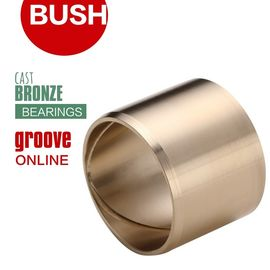 Solid Cast Bronze Bearings Bronze Copper Groove Bearings Plastics For Processing & Metal Stamping Industries