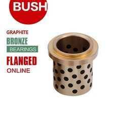 Centrifugal Plugged Graphite Turned Bronze Bushings Custom Oversized Extra Big Size