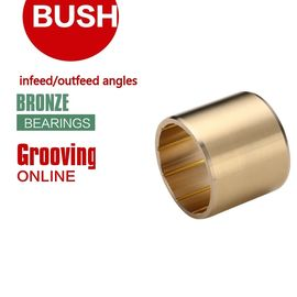 China Infeed & Outfeed Angles Threading Grooving Bronze Bushing Blunting | C93200 SAE660 Rg7 Lead-Tin Bronze Bearing factory