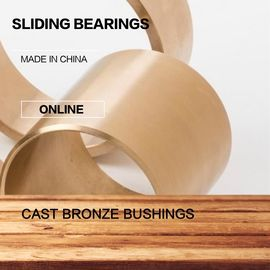 Infeed & Outfeed Angles Threading Grooving Bronze Bushing Blunting | C93200 SAE660 Rg7 Lead-Tin Bronze Bearing supplier