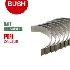 High - Load Half Barings Shell Steel PTFE & POM Composite Bushings supplier