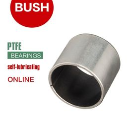Self Lubricating Bronze Bearing PTFE Bushings ID of 3mm to 400mm Cylindrical Bushes supplier