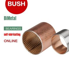 Wrapped Composite Bimetal Bearing Copper Or Tin Plated Steel Bronze CuPb10Sn10 CuSn6Zn6P supplier