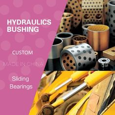 Hydraulics Sleeve Guide Pump Bushing We Stock and Manufacture Solutions for the Hydraulics Industries Slding Bearings