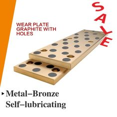 CNC Bronze Steel & Self Lubricating Wear Plates Inch Oilimpregnated Graphite Plugs supplier