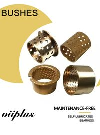 China Bronze Flanged Sleeve Bushing & Bearings Made Of CuSn8 With Lubrication Indents factory