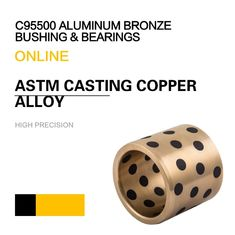 China C95800 Aluminum Bronze Bearing ASTM UNS / SAE Casting Copper Alloy Bushing & Plate factory