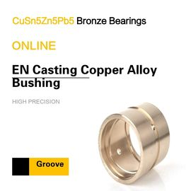 CuSn5Zn5Pb5 EN Casting Copper Alloy Bearing Custom & Special Groove Patterns