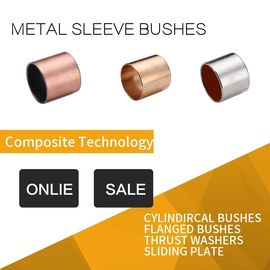 Bronze Intermediate Layer Sleeve Bushes Guide Bearings Long Life supplier