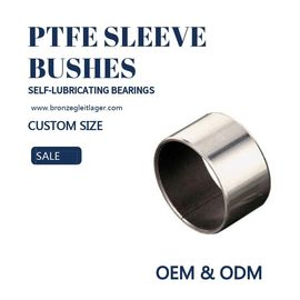 Guide PAF PAP Self Lubricating Plain Bearing Steel Copper Sleeve Bushes PTFE supplier
