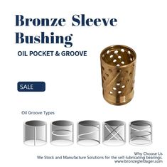 Thin Wall Split Oil Groove Bronze Bushings Brass Bearings Oil Socket For Construction Machinery supplier