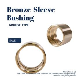 Custom Casting Bronze Bushing Thin - Walled Bearing Use In Agricultural Machinery