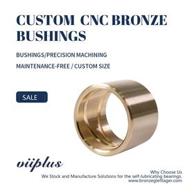 Premium Cast Bronze Bushing, Precision CNC Milling Copper Aluminium Alloy Bronze Bush