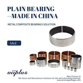 China Metric Standard Size Available Cylindrical Bearing Composite Bushing factory