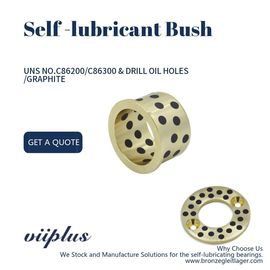 Centrifugal Casting Manganese Bronze Bushings ASTM B22 / B271 UNS NO C86200 / C86300 supplier