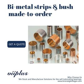 Strips & Plates Bimetal Bearing Bushes Bronze Alloy SAE797 , SAE799 , SAE48 & SAE783 supplier