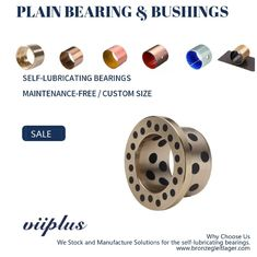Turned Brass Bronze Bearings & Copper Alloys Graphite & Aluminium Bronze