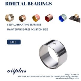 High Tin Aluminum Bearing & Groove Bushings AlSn20Cu Replace Babbitt Bushings supplier