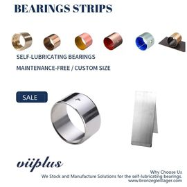 China White Metal Bearing & Bimetallic Bushings Strips Steel with AlSn20Cu factory