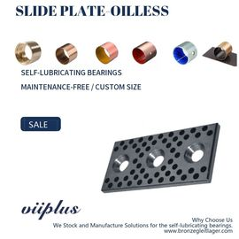 China S45C Oilless Slide Plate , Self Lube Wear Plates Special Steel Graphite factory