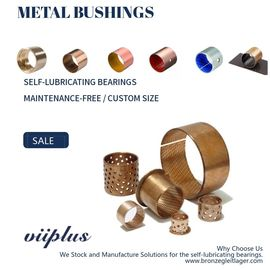 Standard Wrapped Bronze Sleeve Bearings For Underwater Pelletizer Machines