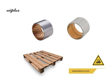 China Split Type Bimetal Bearing Bushes Buckle Steel Backed Solid Sleeve Bushing factory