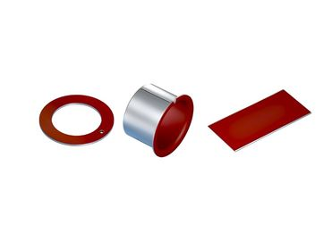 Buchse Lager Bronze Sleeve Bushings Metall Polymer Gleitlager Material supplier