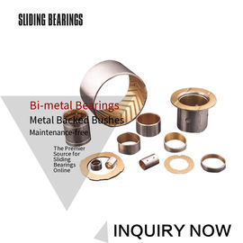 SAE Standard Layer Bimetallic Strips & Plates Split Type Lubricated Metal supplier