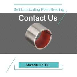 PTFE Customzied Size Self Lubricating Plain Bearing DIN 1494 / ISO 3547 supplier
