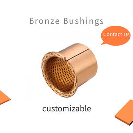 Crane and Lifting Equipment Wrapped Bronze Bushing Diamond Or Spherical Oil Holes supplier