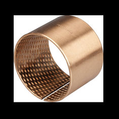 Tin Bronze Sleeve Bushing BRM 30 - 34 L30 With Lubricating Grooves FB090 supplier