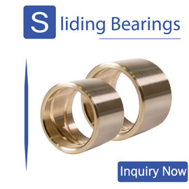 CuZn25A16Fe3Mn3 Self Lubricating Copper Bush Sleeve High Precision Bearings supplier