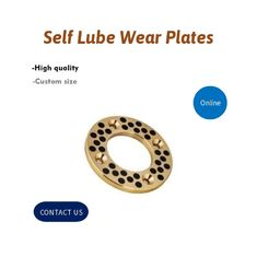 Graphite Plugged Washer Self Lube Wear Plates Flange Size SANKYO Standard supplier
