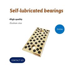 C86300 Bronze JIS, HBSC4 Copper Alloy previously Special Solid Lubricant Embedded supplier