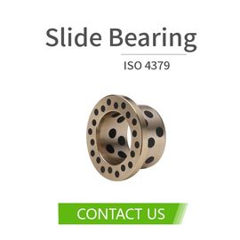 Construction Excavators Bronze Sleeve Bushing High-Power Performance Plug Graphite C86300 SAE430B Inch Size supplier