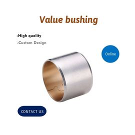 Flange Bimetal Bushing CuPb10Sn10 | Friction Welded Bimetallic Bearing