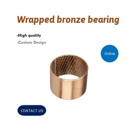 090 Oilless Bronze Sliding Self Lubricating CuSn8 Bearing Bushing supplier